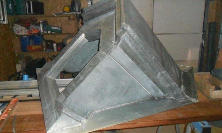 Création en zinc à Grazac